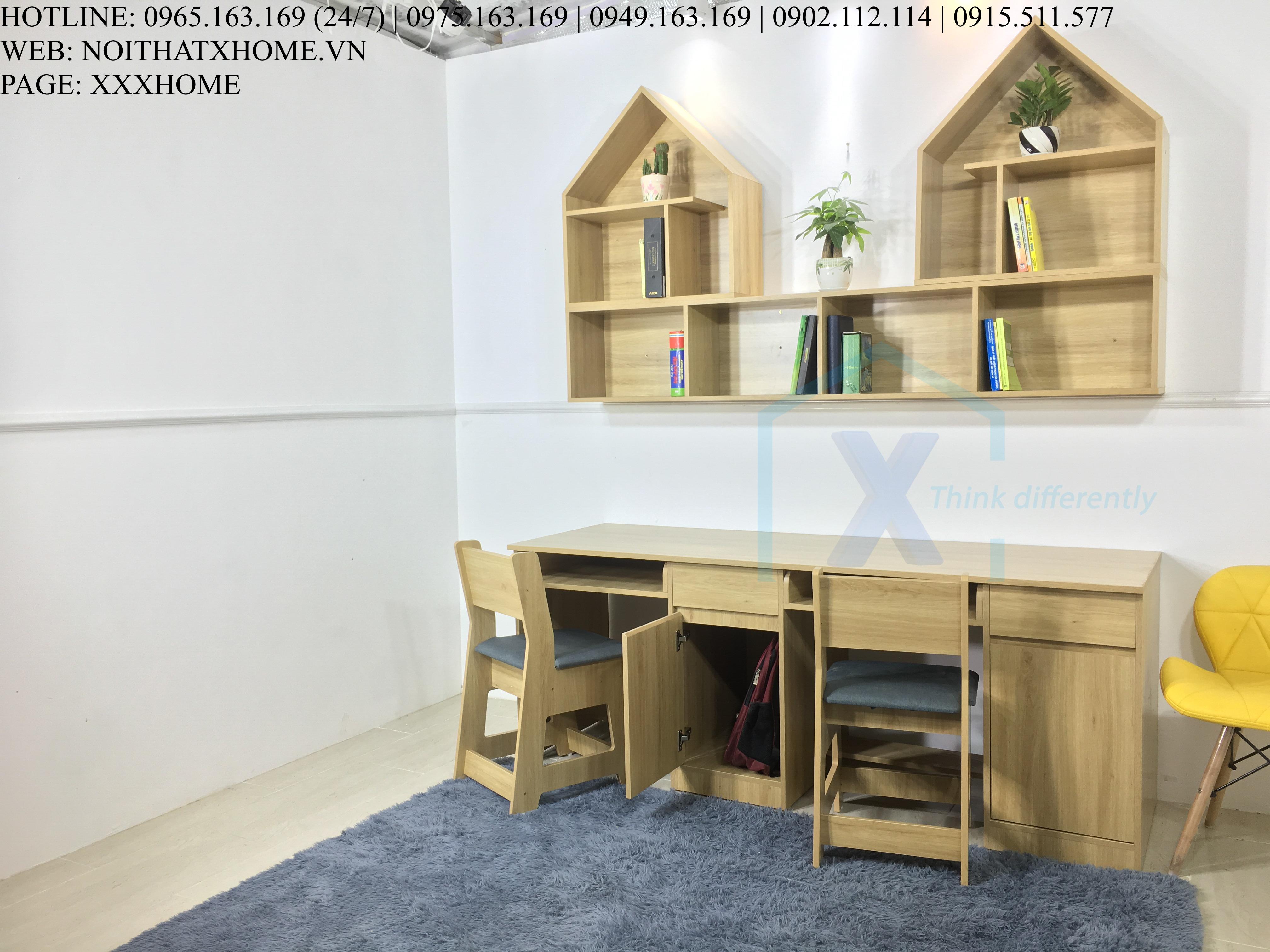 Bàn ghế học sinh X HOME Hà Nội
