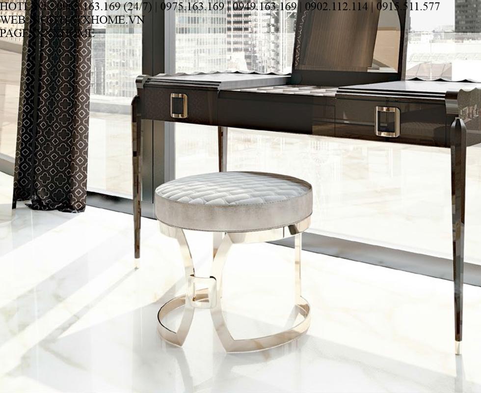 Ghế bàn trang điểm Carpanese Home - Art.7088 X HOME Hà Nội