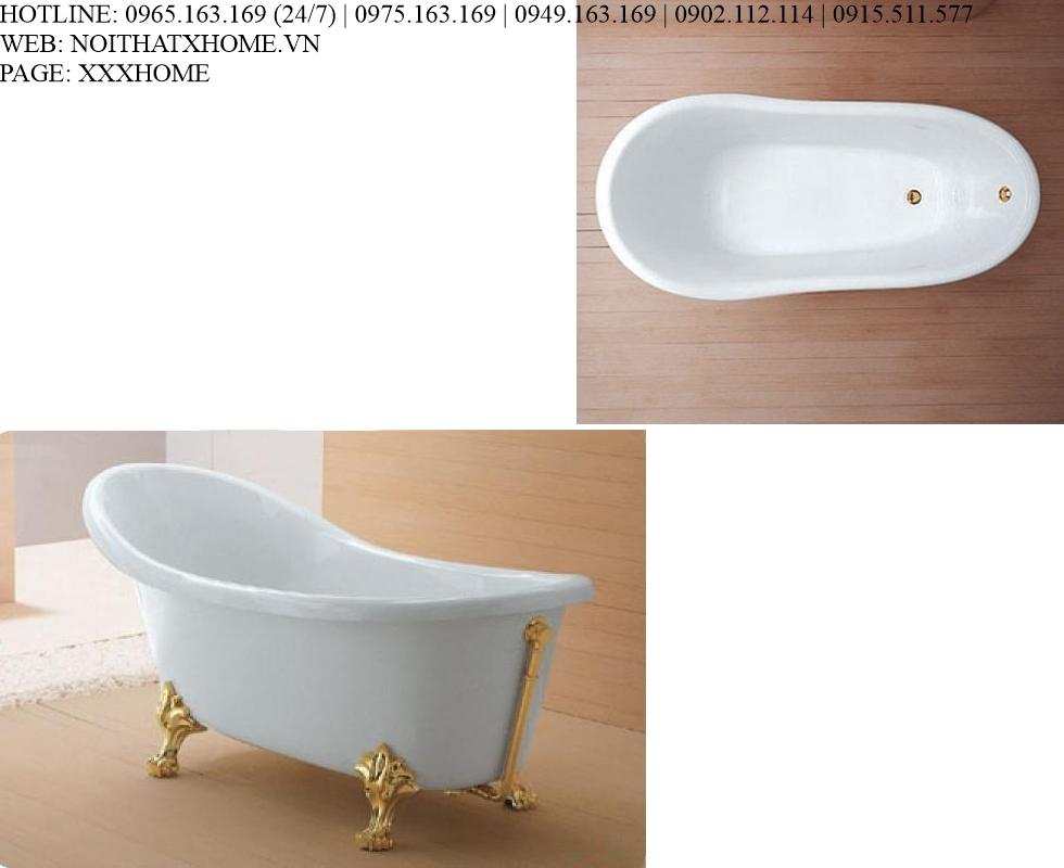 Bồn tắm Glass - Old England X HOME Hà Nội