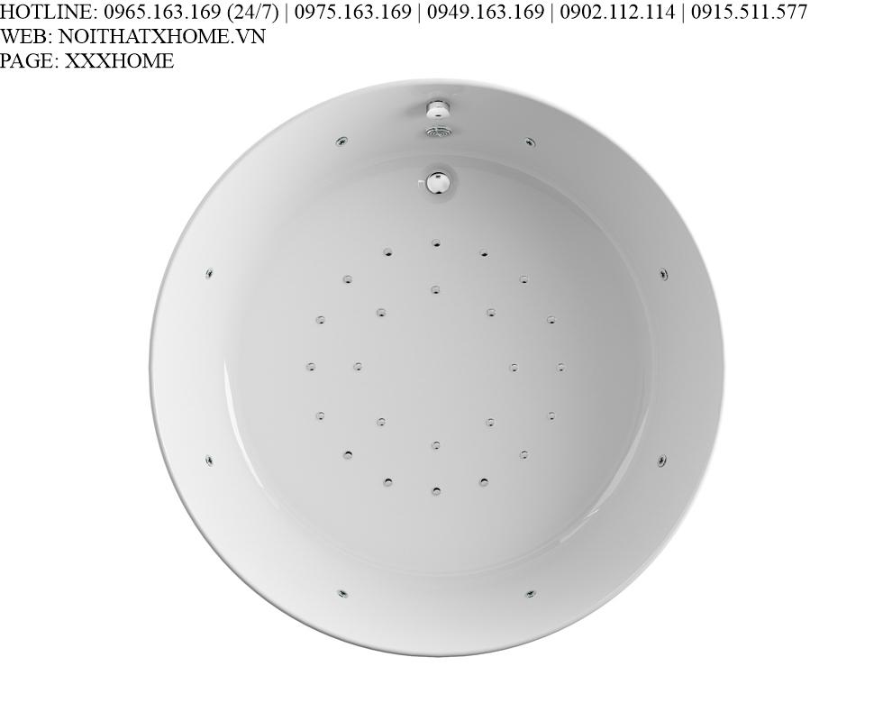 Bồn tắm massage Glass - Pearl D175 X HOME Hà Nội