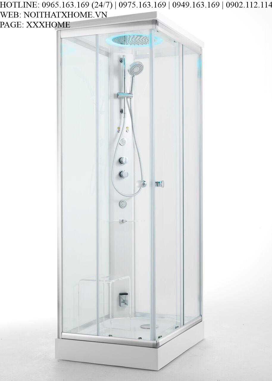 Bồn tắm xông hơi Glass – Archimede X HOME Hà Nội