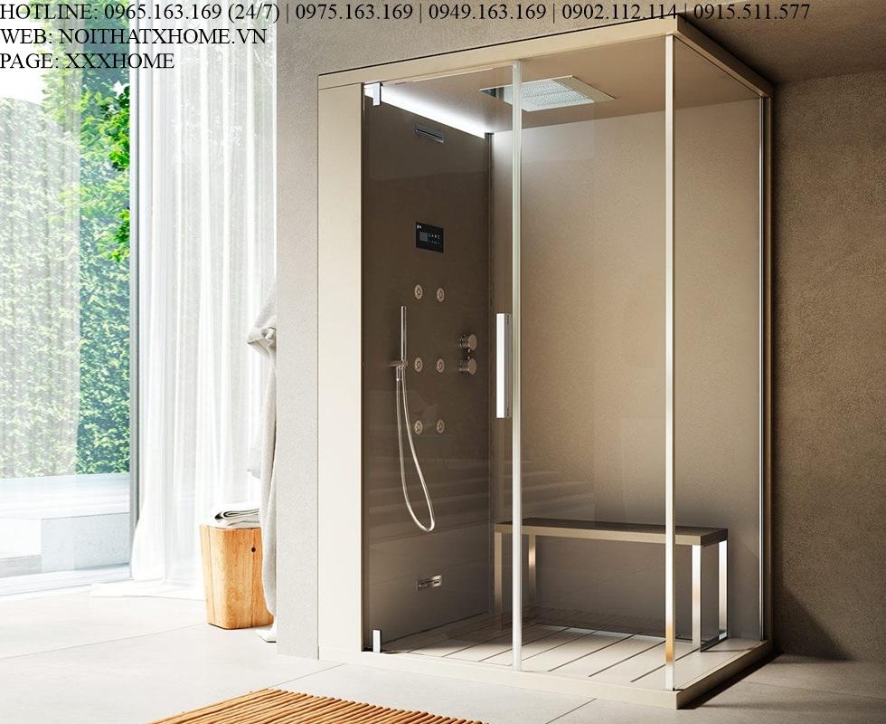 Bồn tắm xông hơi Glass – Pasodoble X HOME Hà Nội