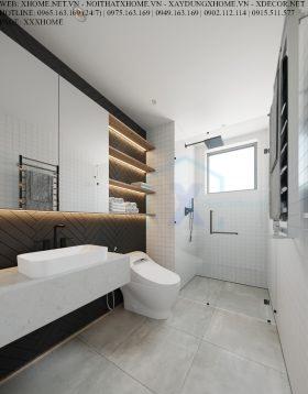 X HOME THIẾT KẾ CĂN HỘ CHUNG CƯ HINODE CITY 100 M2