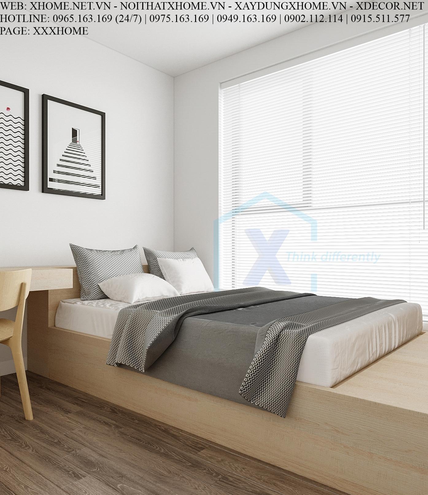 X HOME THIẾT KẾ CĂN HỘ CHUNG CƯ PHC COMPLEX 100 M2