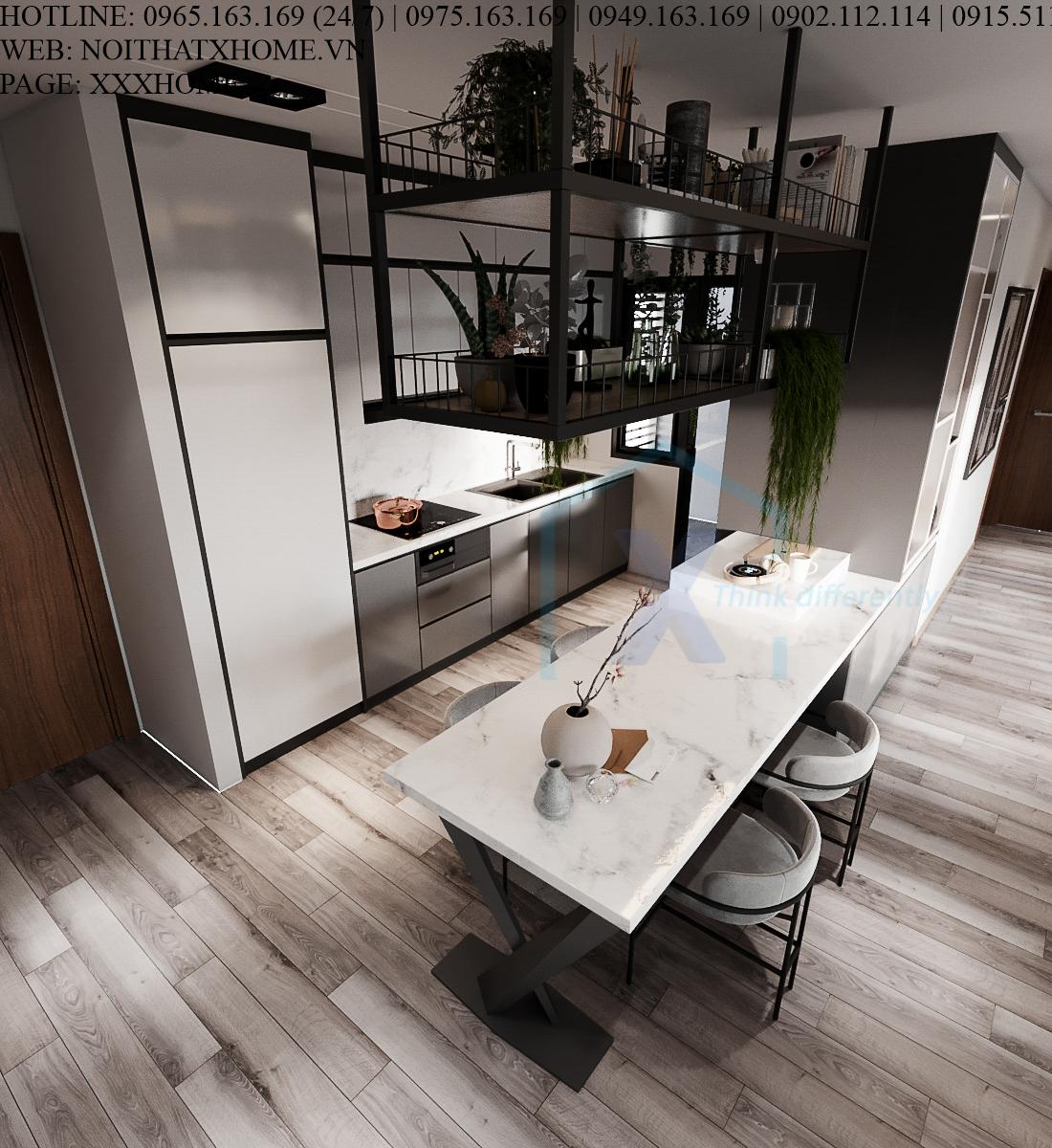 Thiết kế nội thất kiến trúc X HOME Hà Nội