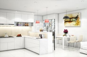 Gợi ý chọn màu sơn cho phòng bếp