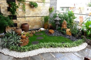 Mẫu sân vườn