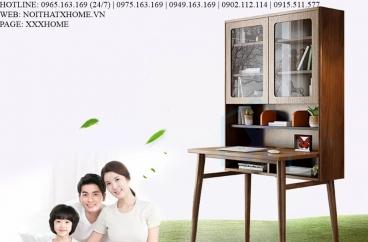 BÀN LÀM VIỆC GỖ X HOME Hà Nội Sài Gòn Hồ Chí Minh XHOME2235