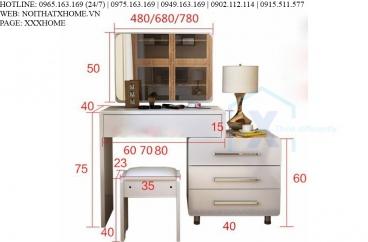 Bộ bàn phấn thông minh cao cấp X HOME Hà Nội XHOME6605