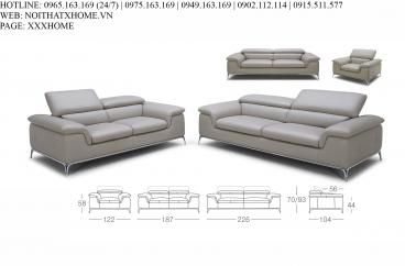 Bộ sofa Kuka - 1695# X HOME Hà Nội