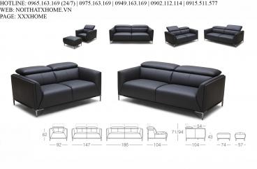 Bộ sofa Kuka 5167B# X HOME Hà Nội