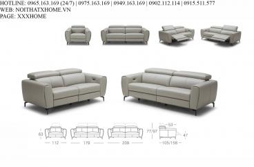 Bộ sofa Kuka 5321# X HOME Hà Nội