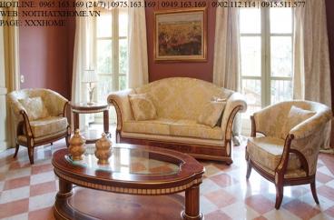 Bộ sofa Vicente - Hermitage Wood X HOME Hà Nội