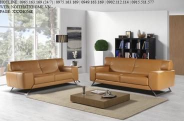 Bộ sofa Nicoletti - Peter 190/Kabiria 600 Cuoio X HOME Hà Nội