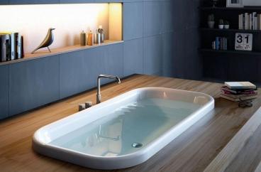 Bồn tắm Glass – Pearl X HOME Hà Nội