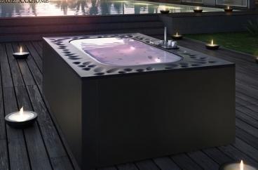 Bồn tắm massage Glass - Arima X HOME Hà Nội
