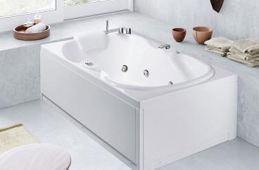 Bồn tắm massage Glass – Lis A X HOME Hà Nội