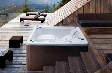 Bồn tắm massage Glass - Myspa 195 X HOME Hà Nội