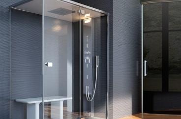 Bồn tắm xông hơi Glass - Noor Steam X HOME Hà Nội