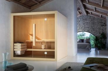 Cabin xông hơi khô Glass – Hoshi X HOME Hà Nội