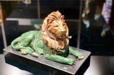 Decor bằng đồng X HOME Hà Nội Hồ Chí Minh Sư tử