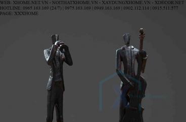 Decor bằng đồng X HOME Hà Nội Hồ Chí Minh Ban nhạc 3