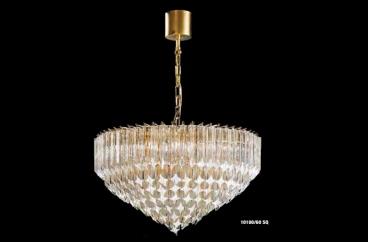 Đèn chùm Novaresi - 10100/60SQ/ Gold X HOME Hà Nội