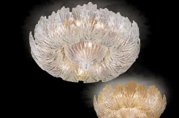 Đèn ốp trần Novaresi - 28000/75/ Gold X HOME Hà Nội
