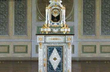 Đồng hồ bàn và đế New Art – 637 X HOME Hà Nội