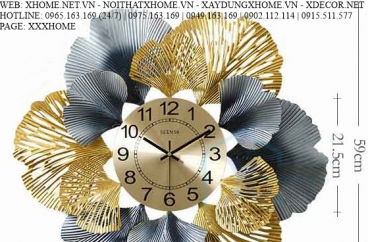 ĐỒNG HỒ TREO TƯỜNG X HOME SÀI GÒN HỒ CHÍ MINH HÀ NỘI XHOME3601