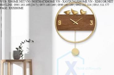 ĐỒNG HỒ TREO TƯỜNG X HOME SÀI GÒN HỒ CHÍ MINH HÀ NỘI XHOME3610