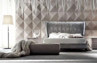 Giường ngủ Giorgio - Alchemy ART.6834/DA Silver X HOME Hà Nội