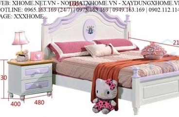 GIƯỜNG NGỦ CHO BÉ X HOME SÀI GÒN HỒ CHÍ MINH HÀ NỘI XHOME3503