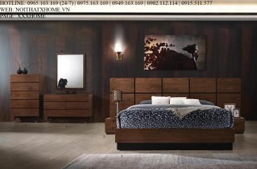 Giường ngủ Ivorie IVB9002 X HOME Hà Nội