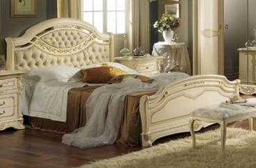 Giường ngủ MobilPiu - Regina King Patinata X HOME Hà Nội