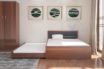 GIƯỜNG NGỦ X HOME 2 TẦNG THÔNG MINH GD6804 1