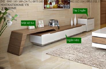 KỆ TIVI GỖ X HOME Hà Nội Sài Gòn Hồ Chí Minh XHOME6644