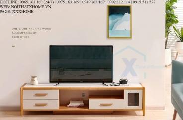 KỆ TIVI GỖ X HOME Hà Nội Sài Gòn Hồ Chí Minh XHOME2208