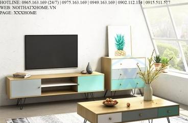 KỆ TIVI GỖ X HOME Hà Nội Sài Gòn Hồ Chí Minh XHOME3312