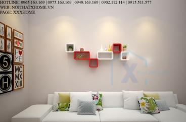 KỆ TRANG TRÍ X HOME GẮN TƯỜNG ĐỘC ĐÁO NÉT CĂNG KT6802