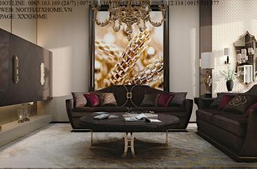 Sofa ghế ba Carpanese Home - Art.7039 X HOME Hà Nội