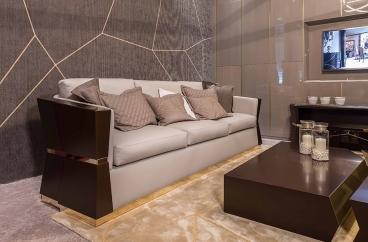 Sofa ghế ba Carpanese Home - Art.7539 X HOME Hà Nội