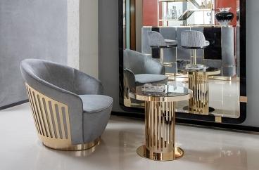 Sofa ghế đơn Giorgio - Charisma Art.280/01/Da 1112 X HOME Hà Nội