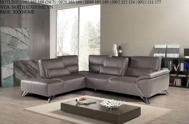 Sofa góc Nicoletti - Darwin Pelle Touch 1511 Beige X HOME Hà Nội