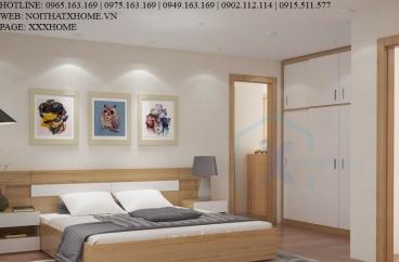 Thiết kế thi công nội thất chung cư Mr Dũng