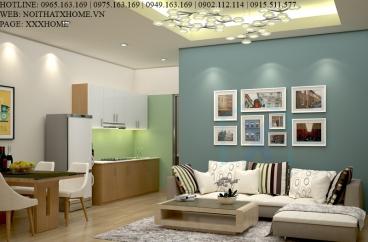 Thiết kế thi công nội thất chung cư Mr Hùng