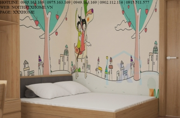 Thiết kế thi công nội thất chung cư Mrs Phương