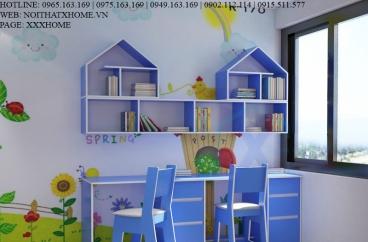 Thiết kế thi công nội thất phòng bé An
