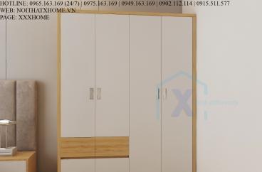 TỦ QUẦN ÁO GỖ CÔNG NGHIỆP X HOME HÀ NỘI SÀI GÒN HỒ CHÍ MINH XHOME08