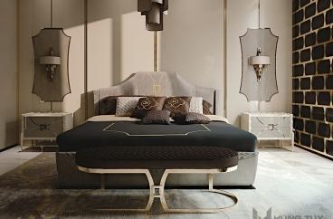 Tủ đầu giường Carpanese Home - Art.7022 X HOME Hà Nội